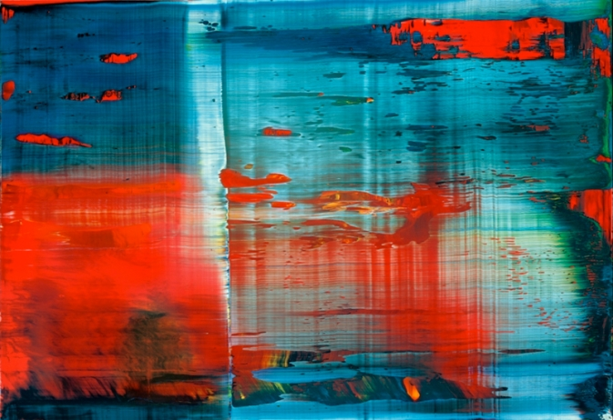 Abstract Painting Artist Gerhard Richter